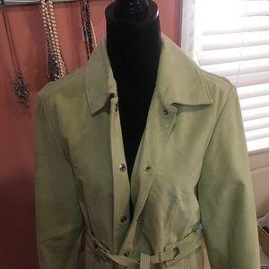 Bernardo's ladies suede jacket